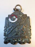 1925 DICKINSON North Dakota High School Award Metal Badge Pin 50 yard dash