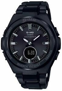 Baby-G Casio Watch Baby Gee G-MS Radio Solar MSG-W200CG-1AJF Women's Black