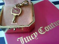 JUICY COUTURE Pink & Blue Reversible Key 🔑 Charm Vintage