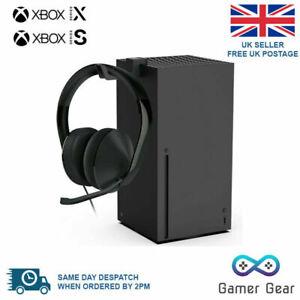 Xbox Series X Console Headset Headphones Stand Mount Hook Storage