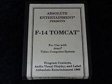 Atari 2600 Game - F-14 TomCat. Cart only. No Box or Instructions