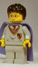 LEGO Harry Potter Minifigure with Purple Cape 4709 4706 4721 Yellow Face Genuine