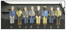 Broadway Limited 1004 Engineer & Fireman 2-Pack - Figures A & B