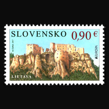 """Slovakia 2017 - EUROPA Stamps """"Palaces and Castles"""" Architecture - MNH"""