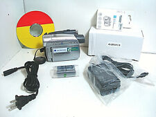 Sony Dcr-Hc28 miniDv camcorder with new accessories + Warranty