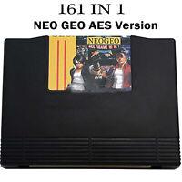 161-in1 Jeu vidéo Cartouche JAMMA Multi Arcade pour SNK NEO GEO AES Game Console