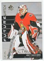 2019-20 SP Authentic SPECTRUM FX FUTURE WATCH Level 1 Joey Daccord Unscratched