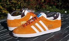 BNWB & Genuine adidas originals Gazelle OG Orange Suede trainers UK Size 4