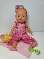 Rare - Zapf Creations Baby Born Girl Mommy Look I Can Swim Doll Swimming