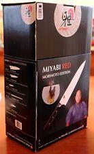 ZWILLING HENCKELS MIYABI 600S RED MORIMOTO 6-PIECE KNIFE BLOCK SET MADE in JAPAN