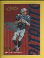 Tom Brady  2018 Panini Absolute Card # 64 New England Patriots Football  QB