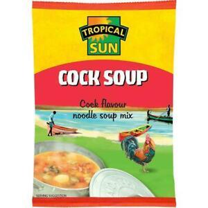 3 x Tropical Sun Cock Flavour Noodle Soup Mix 50g