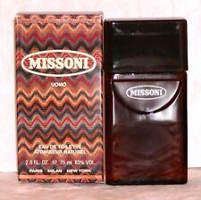 MISSONI Uomo by Missoni Eau De Toilette for Men 2.5 FL.OZ. / 75 ml Spray NIB