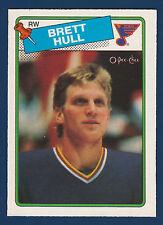 BRETT HULL ROOKIE 88-89 O-PEE-CHEE 1988-89 NO 66 NRMINT+