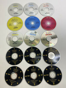 Lot of 18 CDs of Assorted Audio books.