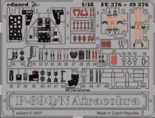 Eduard 1/48 P-39Q/N AIRCOBRA pre-verniciato in colore! # FE376