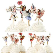 24pcs Party Picks Unique Flower Fairy Cupcake Decor Wedding Girls Toppers