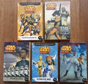 Star Wars Rebels 5 Taschenbücher