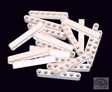 LEGO Technic - 20 x Studless Beams - 7L Liftarms - White - New - (NXT, EV3)