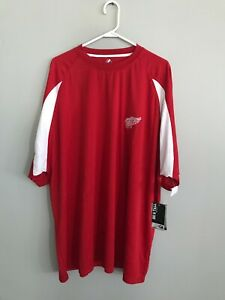 Majestic Detroit Red Wings Athletic Shirt Size 4XL NWT