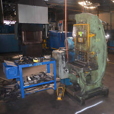 TAYLOR & CHALLEN  HYDRAULIC C metalworking PRESS NO56 20 TON 37.8kW 50hp motor