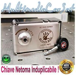 BLOCK BOX Blindatura OBD KEY + CON CHIAVE Protezione Antifurto Auto Sicurezza