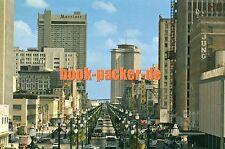 Ak/Vintage Postcard: New Orleans-Canal Street (1970er)