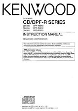 Kenwood CD-203 CD Player Owners Instruction Manual