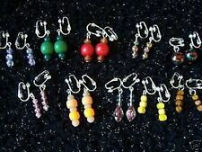 10 pairs of dainty clip-on earrings - ideal for kids