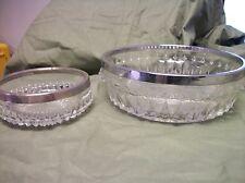 Glass bowls, Set of 2 #565