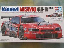 Tamiya 1/24 Nissan Xanavi Nismo GT-R Model Car Kit #24268
