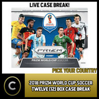 2018 PANINI PRIZM WORLD CUP SOCCER 12 BOX (CASE) BREAK #S027 - PICK YOUR COUNTRY