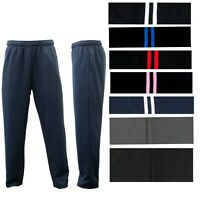 NEW Mens Casual Track Pants Tracksuit Stripes Cool Breathable Mesh S M L XL XXL