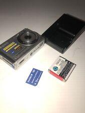 Sony Cyber-shot 7.2 mega pixels DSC-W80 Carl Zeiss Lens Full HD Camera