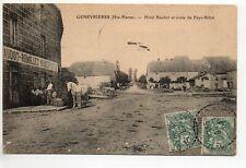 GENEVRIERES  Haute Marne CPA 52  Hotel BAUDOT-REMILLET route de Fays Billot