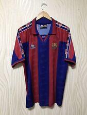 BARCELONA 1995 1997 HOME FOOTBALL SOCCER SHIRT JERSEY CAMISETA KAPPA VINTAGE