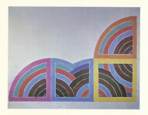 Frank Stella vintage 1968 - Study for a Painting