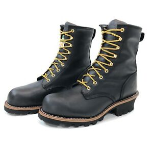 """NEW Chippewa Men's Size 11W Steel Toe 9"""" Logger Boot Insulated Leather 255226"""