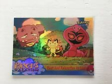 Topps Pokemon Film/ Movie Card Pikachu's Vacations Nr.#49 HOLO Englisch