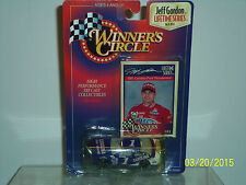 WINNERS CIRCLE: Nascar  Life time Series, Jeff Gordon, 1991 Ford T Bird #1 1:64