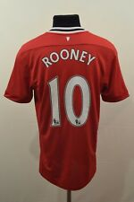ROONEY 10 MANCHESTER UNITED 2011/2012 HOME FOOTBALL SHIRT MAGLIA JERSEY NIKE