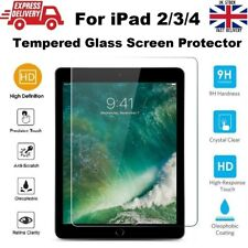 Shatter Proof Bubble Free Tempered Glass Screen Protector for iPad 2/3/4