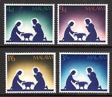Malawi - 1967 Christmas - Mi. 76-79 MNH
