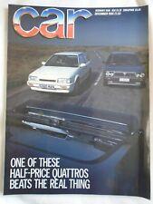 Car Dec 1986 Mercedes W124 AMG, Lancia Delta HF Turbo vs Mazda 323 Turbo 4x4