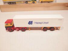 Hapag-Lloyd, Scania 111, 4 Scheinwerfer Werbemodell 40ft. Containersattelzug