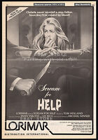 SCREAM FOR HELP__Original 1983 Trade AD movie promo_poster__MICHAEL WINNER_1984