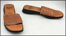 Block Striped Sandals for Women