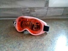 Gordini Youth Ski Goggles Snow  Pink w/ Amber Rose Lens Anti Fog Child Kids