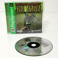 Legacy of Kain: Soul Reaver (Sony PlayStation 1, 1999) PS1 CIB Complete TESTED
