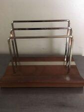 Park Sherman Vintage Desk Walnut Desk Accessory Mail Letter Organizer File